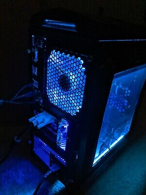 Gaming PC AMD Athlon X4 860K 8GB DDR3 120GB SSD 500GB HD FM2+ DIYPC Blue LED