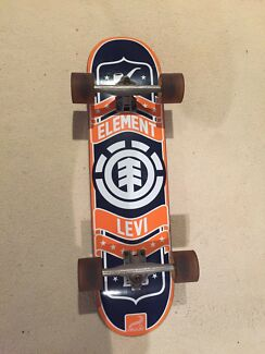Element 'Levi' Skateboard + Oversize trucks and wheels.