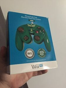 Sealed Wii u fight pad controllers