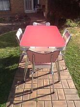 Retro laminate kitchen table and chairs  Reservoir Darebin Area Preview