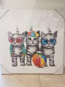 Kitten Photo Canvas