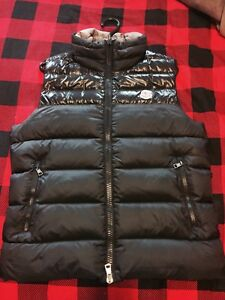 Moncler Dupres Vest Black Men sz 2 (Medium)