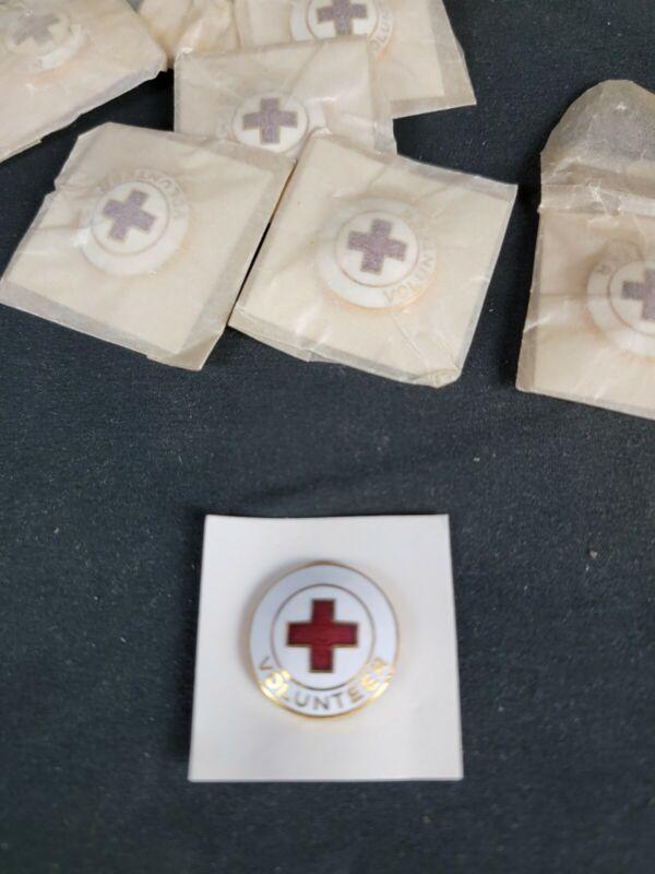 WW2 Era Red Cross Volunteer Pin NOS