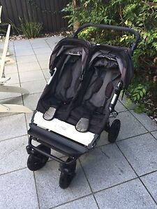 Mountain Buggy Duet Dual Pram Clayfield Brisbane North East Preview