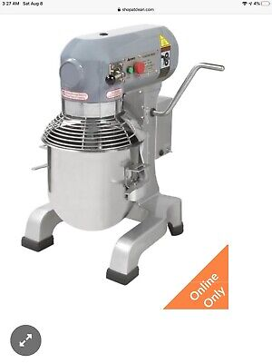 Adcraft Pm-10 10qt Planetary Mixer With 3 Attachements