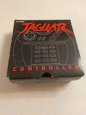 Atari Jaguar Controller Black Button New in BOX !! Plastic never opened