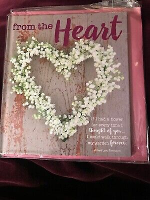 From The Heart Journal Book Card Diary Couples Anniversary Gift Idea