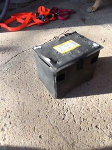 Car battery cover