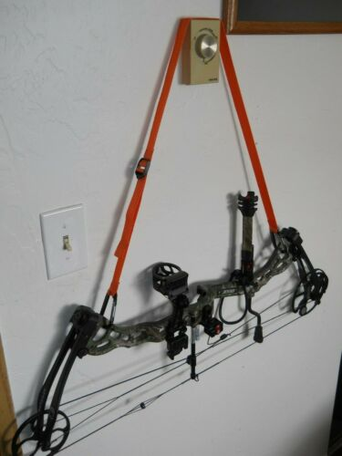 NEW Orange Adjustable Compound Bow Sling-The Bow Strap