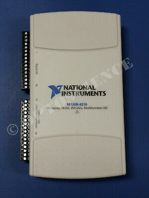 National Instruments Usb-6210 Data Acquisition Card Ni Daq Multifunction