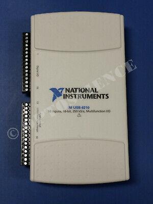 National Instruments Usb-6210 Data Acquisition Card Ni Daq Multifunction