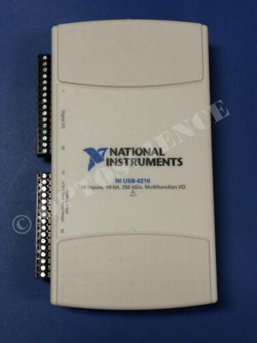 National Instruments USB-6210 Data Acquisition Card, NI DAQ, Multifunction