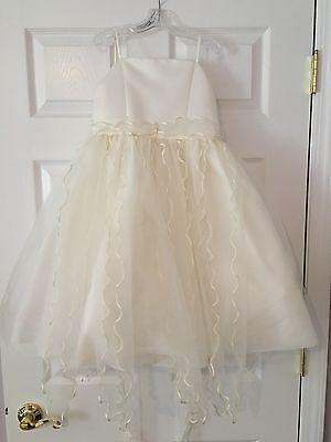 Gorgeous Sarah Louise Girl's Dress Sz6 Flower Girl Wedding Confirmation Ret $180 - Gorgeous Flower Girl Dresses