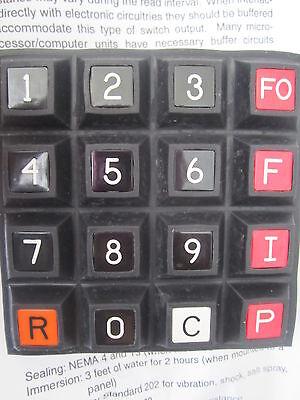 Ird Telephone Keyboard Switch Pn Px2p16k30a2f-015 Keypad  New