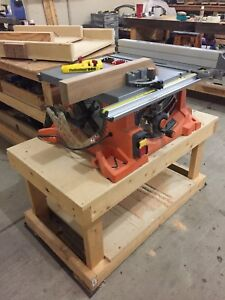 Excellent Table Saw and accessories