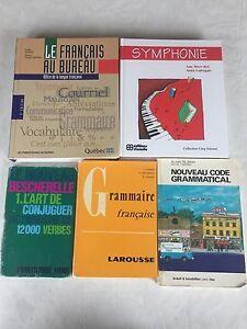 Livre de grammaire française