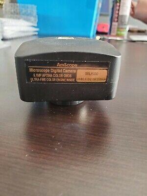 Amscope 5mp Usb Microscope Digital Camera Measurement Software
