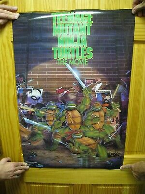 Teenage Mutant Ninja Turtles Affiche Film Tmnt Raphael Donatello Leonardo ()