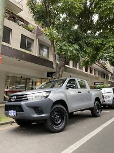 2017 Toyota Hilux Workmate (4x4) 6 Sp Manual X Cab C/chas