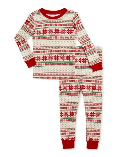 2-Piece Set Holiday Time Baby and Toddlers Boy/Girls Pajamas