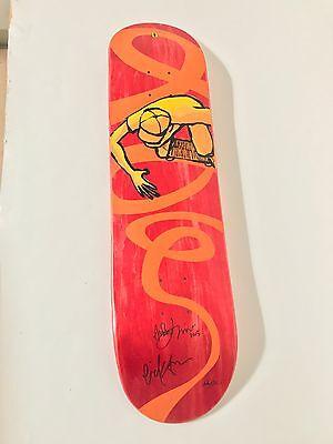 Eric Koston Girl Skateboards Andy Jenkins Oakley Berrics signed deck (Oakley Girl)