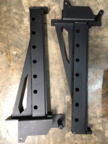 Fringe Sports Safety Spotter Support Arms 3x3 Black Set of 2