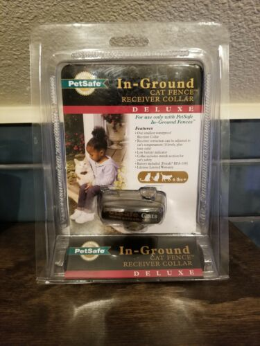 Petsafe In-Ground Cat Fence Receiver Collar Deluxe PIG00-11006 Brand New
