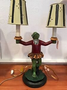 Frog Ballerina Lamp-wired