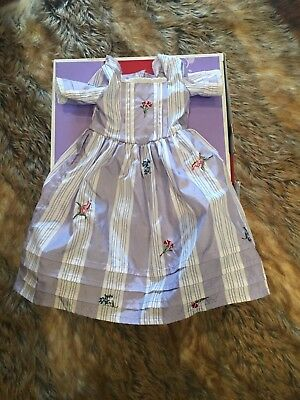 "Felicity American Girl Doll 18"" Retired Traveling Gown Meet Outfit Dress ONLY"