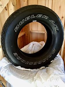 Bridgestone Dueler A/T 255/70 R18 Set of 5 Perfect for Jeep!