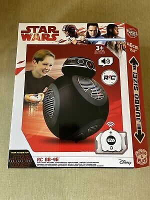 STAR WARS THE LAST JEDI - REMOTE CONTROLLED INFLATABLE JUMBO BB-9E BB9 TOY 40CM