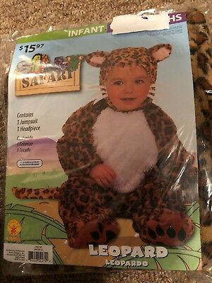 Halloween Costume Infant  Leopard 6 - 12 months or 12- 18 months](Leopard Halloween Costume Baby)
