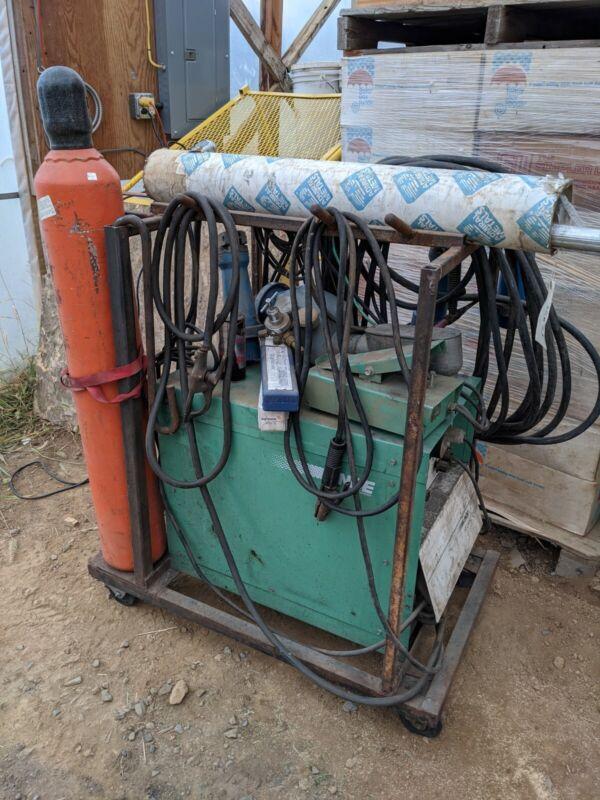 Linde 250HF Heliarc welder