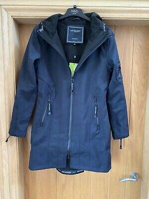 Ilse Jacobsen Rain 07 Raincoat Size 36 In Indigo