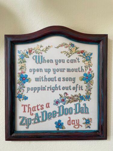 "Full Size 22"" ZipADeeDooDah Day Sign replica Splash Mountain Disneyland Disney"