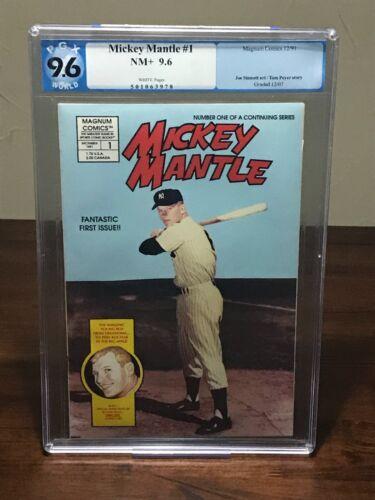 Mickey Mantle #1 PGX 9.6 | NOT CGC