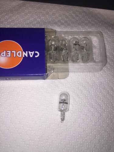 10-Pack Miniature Lamp #259 6.3V T3-1/4 W2.1X9.5D Wedge 5 watt