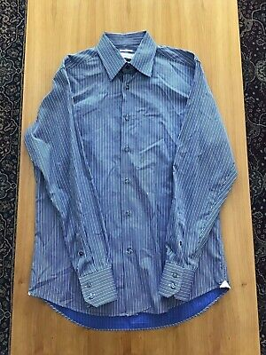 "VERSACE COLLECTION ""BUSINESS FIT"" MENS DRESS SHIRT, SIZE 15.5"