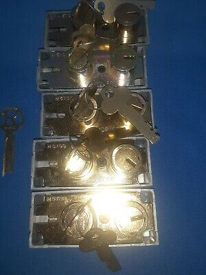 5 Mosler 5700 New Safe Deposit Locks