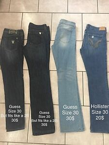 Guess Jeans and coats for sale