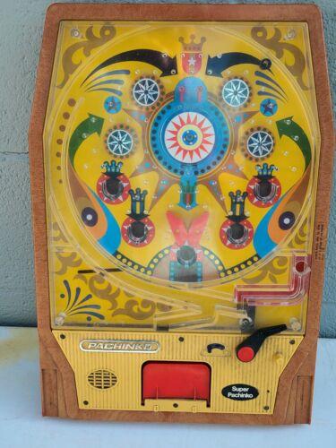 Vintage 1975 Epoch Co. SUPER PACHINKO Machine Made in Japan