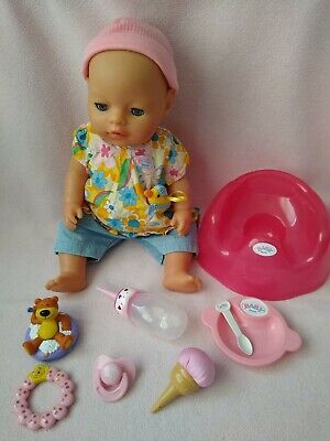 Baby Born Girl doll & accessories, great condition!