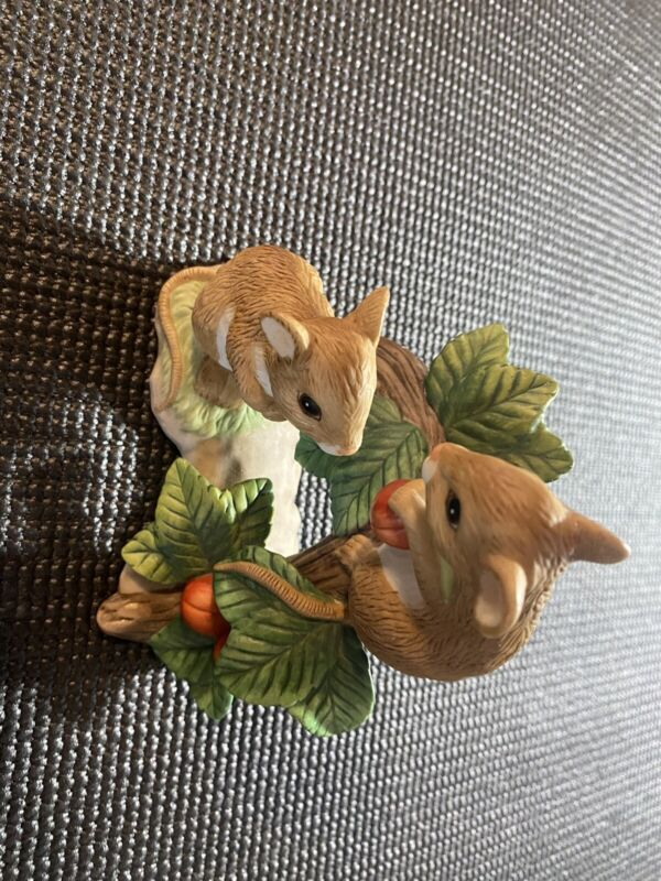 """MOUSE FIGURINE """"TINY TALES"""" HOME INTERIORS AND GIFTS COLLECTABLE"""