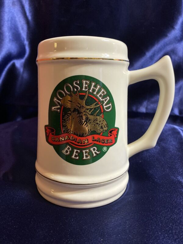 MOOSEHEAD Canadian Lager Beer Stein By Concepts Unlimited