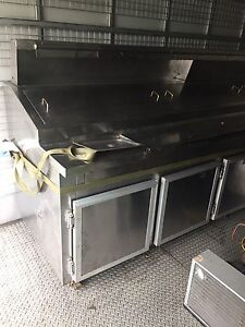 4 door pizza bench with evaporator and external condenser motor Punchbowl Canterbury Area Preview