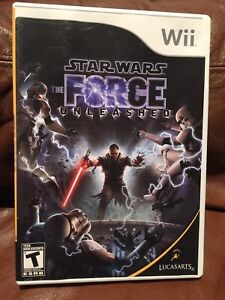 The Force Unleashes Wii