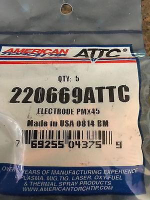 220669 Plasma Cutting Consumable Electrode Pmx45 Hypertherm Powermax 45