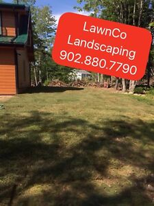 LawnCo Landscaping902.880.7790Reliable.Affordable. Efficient .