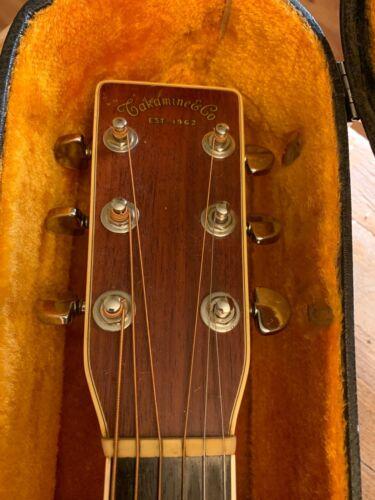 Vintage Takamine F370SK Koa Lawsuit Guitar