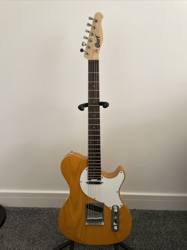 CORT TC MANSON STAGE SERIES ELECTRIC GUITAR, BLONDE WITH ROLLER TRUSS ROD